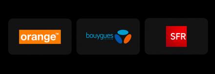 Partenaires téléphonie mobile IPtis, orange, SFR, Bouygues